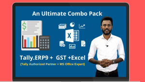 Tally.ERP9 + GST + Excel (Combo Pack) Image