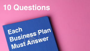 10 Questions Each Business Plan Must Answer to get Funding Image