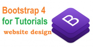 Bootstrap 4 for Tutorials Image