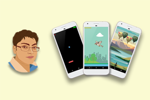 Mobile Game Development : Build 3 Games for Android Image