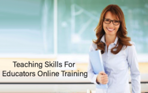 Teaching Skills For Educators Online Training Image