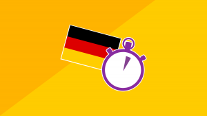 3 Minute German - Course 4   Language lessons for beginners Image