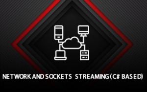 Network sockets and streaming (C# based) Image