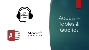 Access Tables and Queries Image