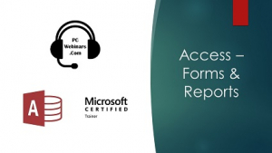Access Forms and Reports Image