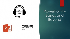 PowerPoint Basics and Beyond Image