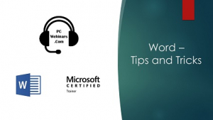 Word Tips and Tricks Image