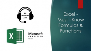 Must Know Excel Formulas and Functions Image