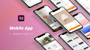 Mobile App Design From Scratch In Adobe Xd Image