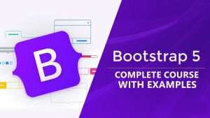 Complete Bootstrap 5 Course From Scratch With 3 Projects Image
