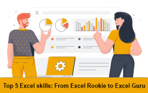 Top 5 Excel skills: from Excel rookie to Excel guru Image