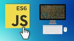 JavaScript Modern ES6 - 2020 - The Complete Course Image