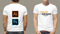 Adobe Photoshop and Illustrator for Merch By Amazon and PoD Image