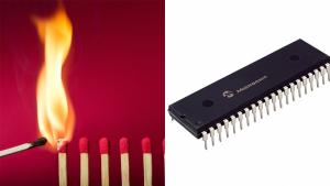 PIC Microcontroller Flame Detector Image