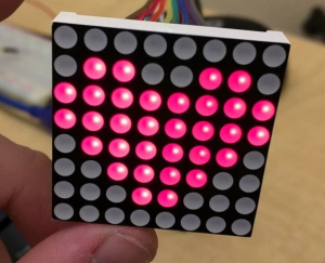 Dot Matrix LED Display Interface with PIC Microcontroller Image