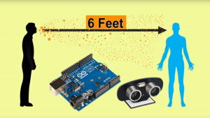 Arduino Social Distance Detector to fight COVID-19 Image