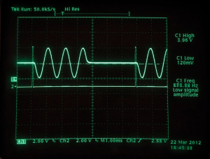 Arduino Based Real-Time Oscilloscope Image