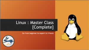 Linux Master Class : Skill up to become a Linux professional Image