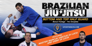 Brazilian Jiu-Jitsu Bottom and Top Half Guard Image