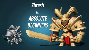 Absolute beginners Zbrush course Image