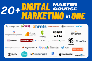 Complete Digital Marketing Course (20+ Courses in 1) Image
