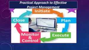 A Practical approach to Effective Project Management Image