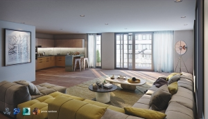 3ds Max + Vray : 3d Visualizer Handbook to Interior Daylight Image
