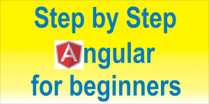 Step By Step Angular For Beginnners Image