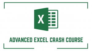 Advanced Excel Crash Course Image