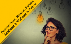 Decision Trees, Random Forests, AdaBoost & XGBoost in Python Image