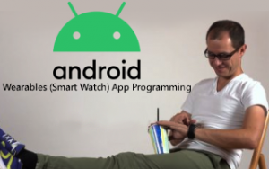 Android Wearables (Smart Watch) App Programming Image