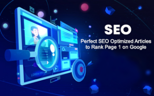 SEO: Perfect SEO Optimized Articles to Rank Page 1 on Google Image