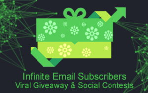 Infinite Email Subscribers: Viral Giveaway & Social Contests Image