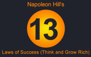 Napoleon Hill's 13 Laws of Success (Think and Grow Rich) Image