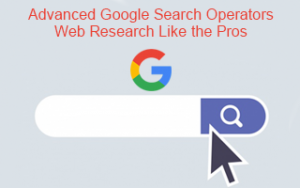 Advanced Google Search Operators: Web Research Like the Pros Image
