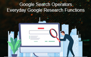 Google Search Operators: Everyday Google Research Functions Image
