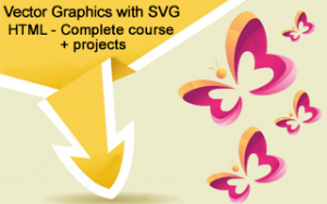 Vector Graphics with SVG & HTML - Complete course + projects Image