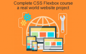 Complete CSS Flexbox course & a real world website project Image