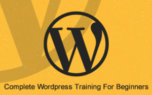 Complete Wordpress Training For Beginners Image