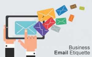 Business Email Etiquette Online Training Image