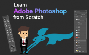 Learn Adobe Photoshop from Scratch Image