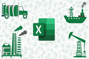 Learn Depreciation Accounting with Advanced Excel Model Image