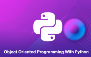Object Oriented programming with Python Image