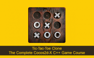 Tic-Tac-Toe Clone - The Complete Cocos2d-x C++ Game Course Image
