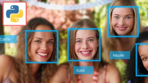 Automated Multiple Face Recognition AI using Python Image