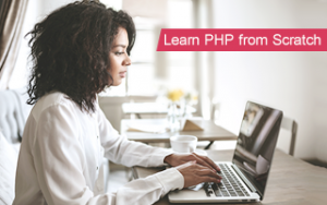 Learn PHP from Scratch Image