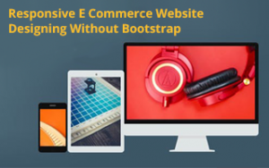 Responsive E Commerce Website Designing Without Bootstrap Image