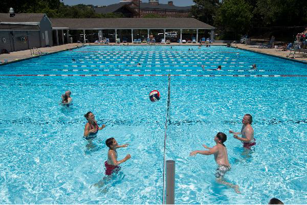 Aquatic Volleyball