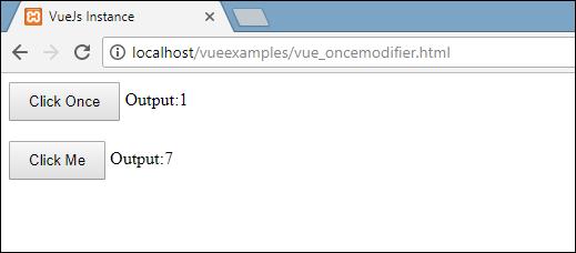 VueJS - Events