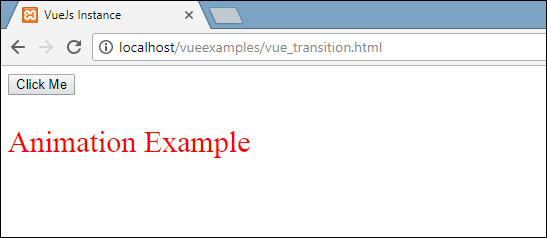 Vue Transition